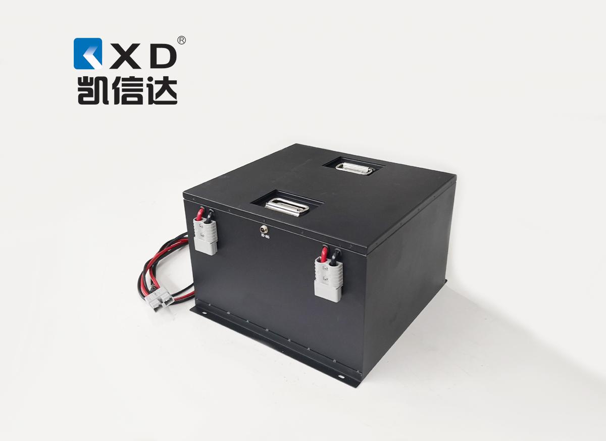 KXD-48V-100AH消防灭火机器人磷酸铁锂动力电池组