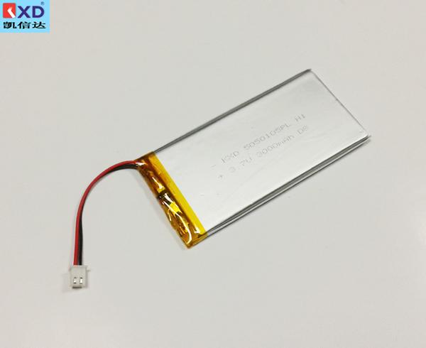 聚合物锂电池KXD5050105PL 3.7V 3000mAh