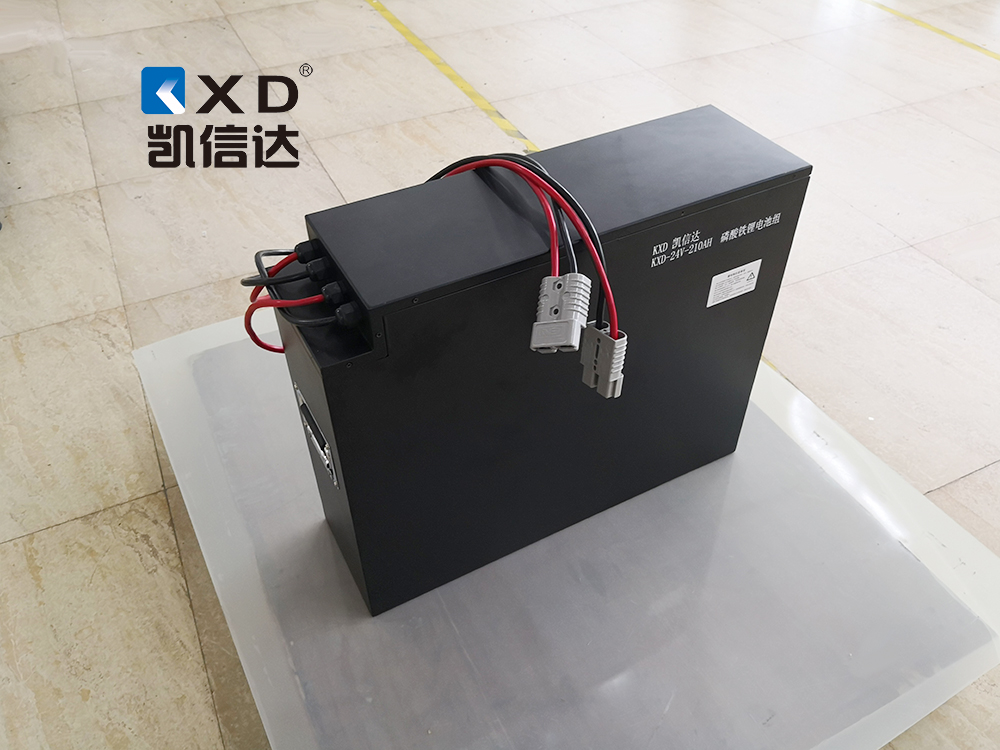 KXD-24V-210AH电动叉车磷酸铁锂动力电池系统