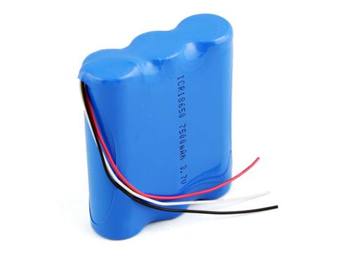 3.7V6Ah/6.6Ah/7.5Ah锂电池组
