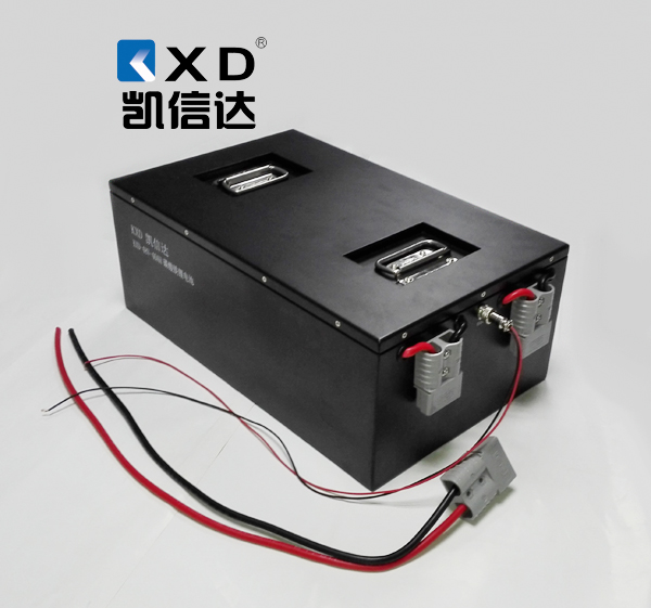 KXD-48V-120AH动力锂电池组 堆垛车锂电池 自动搬运车锂电池
