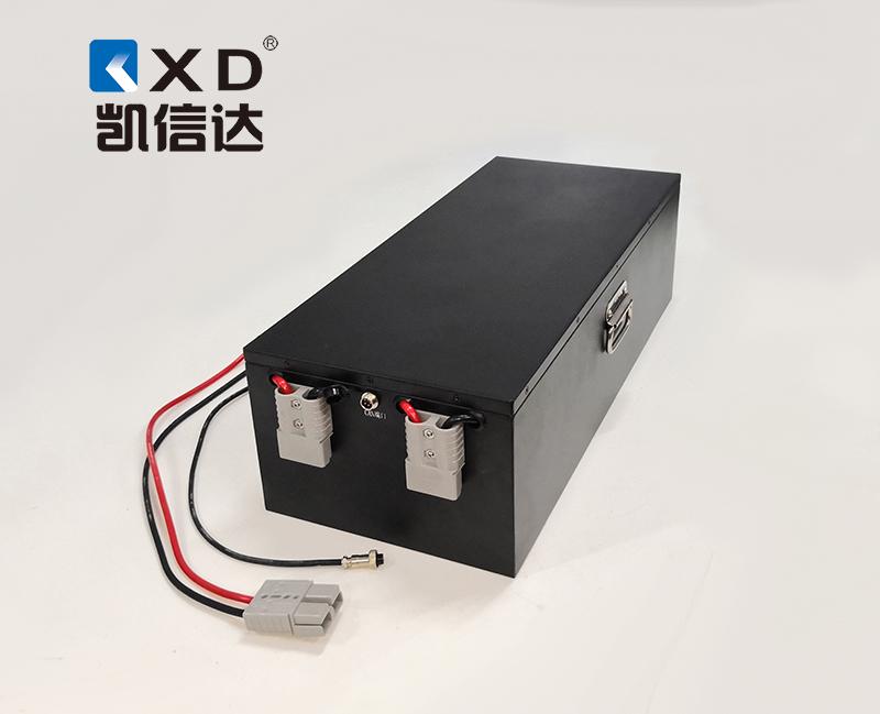 KXD-48V-60AH AGV自動搬運車磷酸鐵鋰電池組